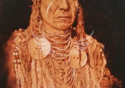 Sioux indián portré