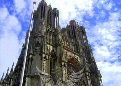 Reims katedrális