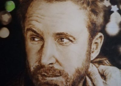 David Guetta portré (részlet)